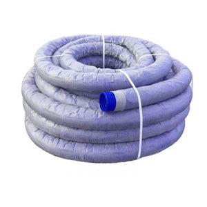 Труба дренажная ПНД двухслойная с перфорацией в фильтре, 110-200 мм диаметр